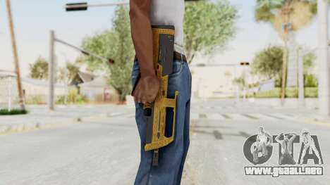 Assault SMG Lux para GTA San Andreas tercera pantalla