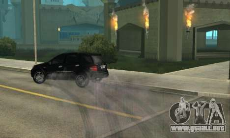 Mercedes-Benz ML 63 AMG para visión interna GTA San Andreas