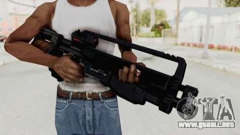 StA-52 Assault Rifle para GTA San Andreas tercera pantalla
