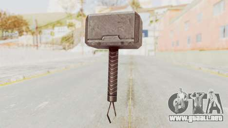 Marvel Future Fight - Mjolnir para GTA San Andreas tercera pantalla