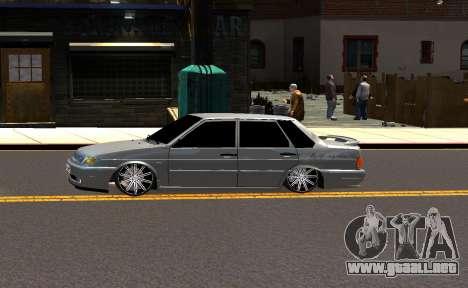 VAZ 2115 Vossen para GTA 4 vista interior