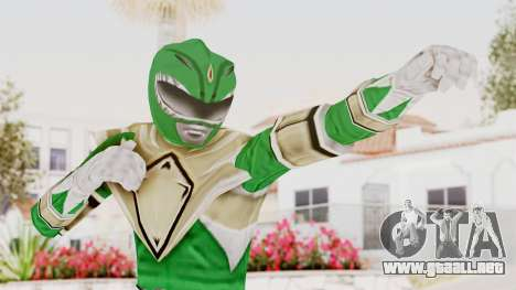 Mighty Morphin Power Rangers - Green para GTA San Andreas