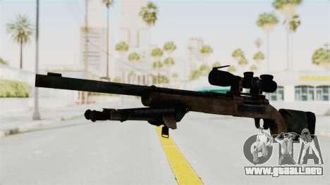 M24 Sniper Ghost Warrior para GTA San Andreas segunda pantalla