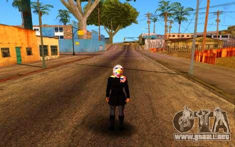 Iranian Girl para GTA San Andreas quinta pantalla