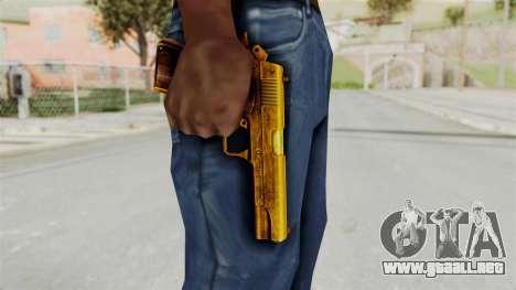 M1911 Gold para GTA San Andreas