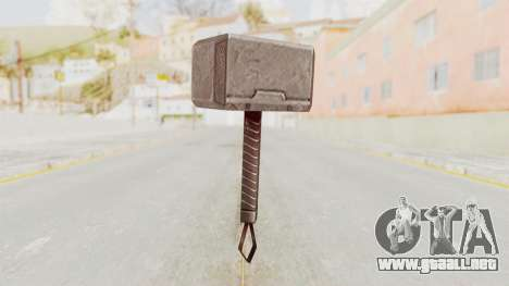 Marvel Future Fight - Mjolnir para GTA San Andreas segunda pantalla