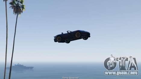 GTA 5 Simple Ramp Spawner With Speed Boost 0.3 cuarto captura de pantalla