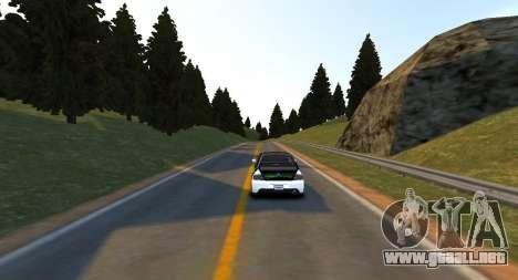 Monumento De La Colina De La Pista para GTA 4 tercera pantalla
