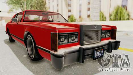 GTA 5 Dundreary Virgo Classic Custom v2 para la visión correcta GTA San Andreas