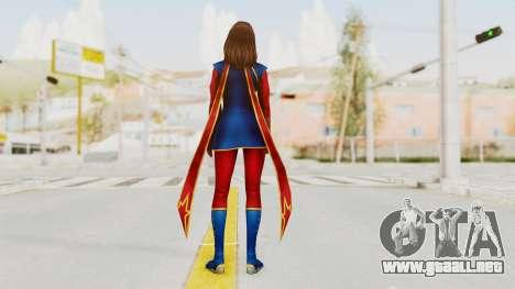 Marvel Future Fight - Kamala Khan para GTA San Andreas tercera pantalla