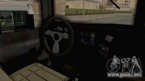Hummer H1 Monster Truck TT para GTA San Andreas vista hacia atrás