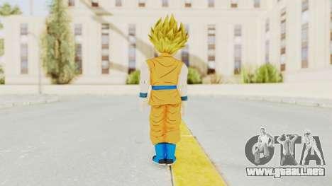 Dragon Ball Xenoverse Gohan Teen DBS SSJ2 v2 para GTA San Andreas tercera pantalla