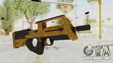 Assault SMG Lux para GTA San Andreas