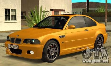 BMW M3 E46 para GTA San Andreas left