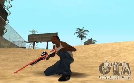 Rifle Cyrex para GTA San Andreas tercera pantalla