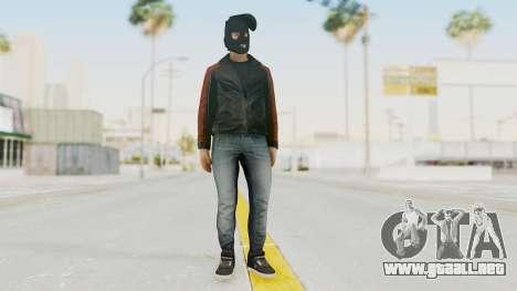 GTA 5 DLC Heist Robber para GTA San Andreas segunda pantalla