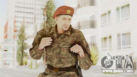 MGSV The Phantom Pain Soviet Union Commander para GTA San Andreas