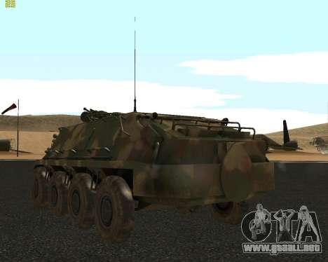 BTR 60 PA para la visión correcta GTA San Andreas
