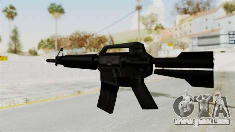 Liberty City Stories M4 para GTA San Andreas tercera pantalla