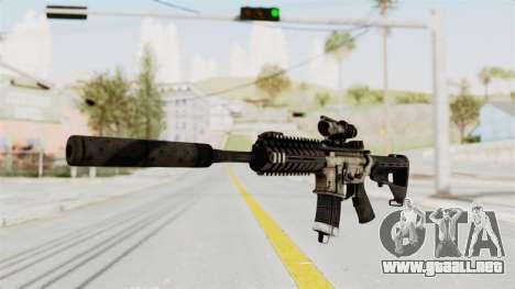 P416 Silenced para GTA San Andreas segunda pantalla