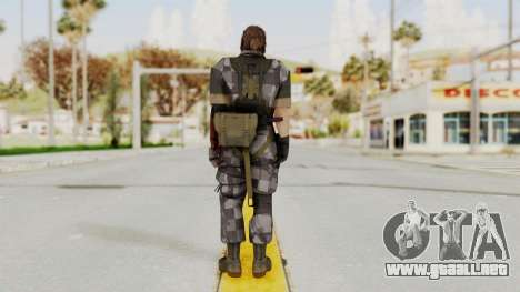 MGSV The Phantom Pain Venom Snake No Eyepatch v7 para GTA San Andreas tercera pantalla