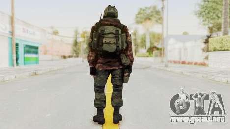 Battery Online Russian Soldier 8 v1 para GTA San Andreas tercera pantalla