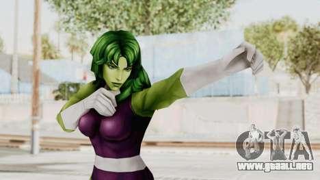 Marvel Future Fight - She-Hulk para GTA San Andreas