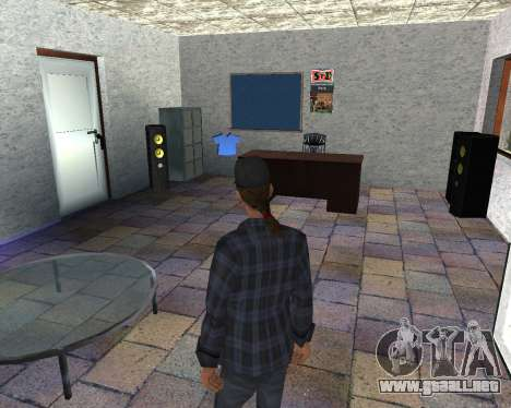El interior de STO San Fierro para GTA San Andreas