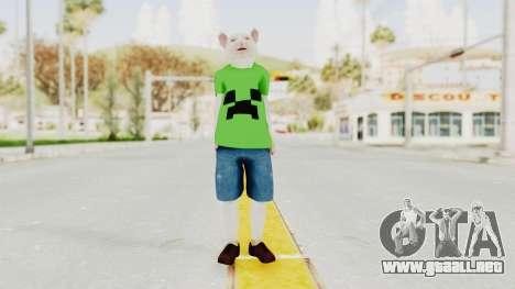 Rat Kid para GTA San Andreas segunda pantalla