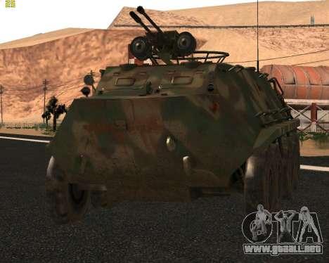 BTR 60 PA para GTA San Andreas left