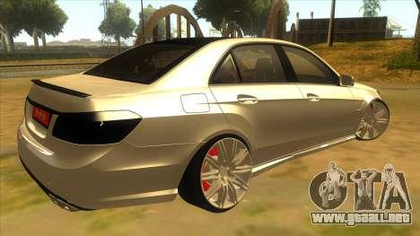 Mercedes Benz E250 Autoridad De La Herramienta para la visión correcta GTA San Andreas