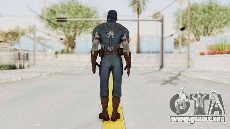 Captain America Civil War - Captain America para GTA San Andreas tercera pantalla