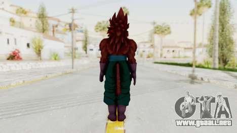 Dragon Ball Xenoverse Vegito SSJ4 para GTA San Andreas tercera pantalla