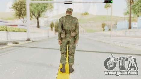 MGSV Ground Zeroes US Soldier Armed v2 para GTA San Andreas tercera pantalla