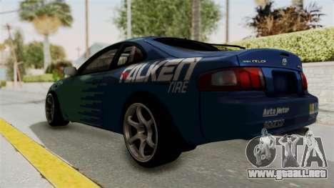 Toyota Celica GT Drift Falken para GTA San Andreas left