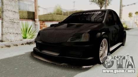 Dacia Logan Loco Tuning para GTA San Andreas vista posterior izquierda