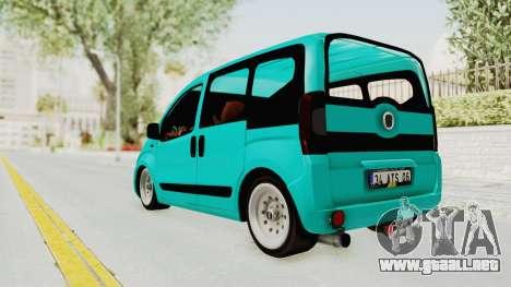 Fiat Fiorino Hellaflush v1 para GTA San Andreas left