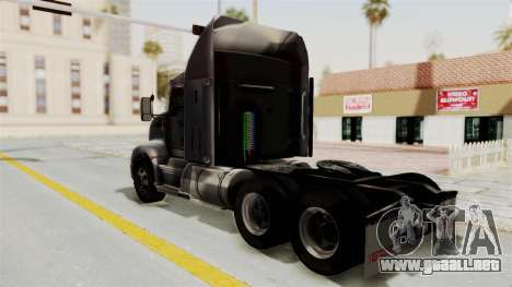 Kenworth T660 Sleeper para GTA San Andreas left