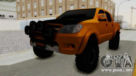 Toyota Hilux 2010 Off-Road Swag Edition para GTA San Andreas