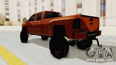 Chevrolet Silverado Long Bed para GTA San Andreas left