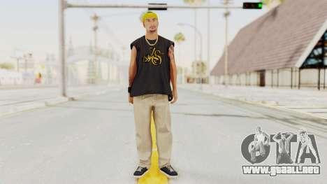 GTA 5 Los Santos Vagos Member 1 para GTA San Andreas segunda pantalla