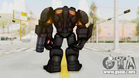 Marvel Future Fight - Hulk Buster Heavy Duty v1 para GTA San Andreas tercera pantalla