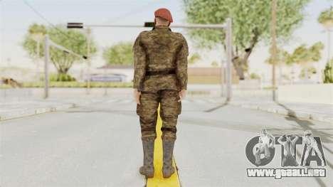 MGSV The Phantom Pain Soviet Union Commander para GTA San Andreas tercera pantalla