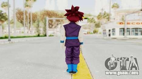Dragon Ball Xenoverse Gohan Teen DBS SSG v1 para GTA San Andreas tercera pantalla