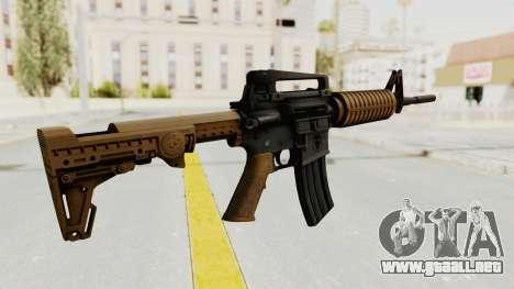 HD M4 v2 para GTA San Andreas segunda pantalla