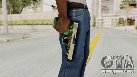 Glock 18C para GTA San Andreas tercera pantalla
