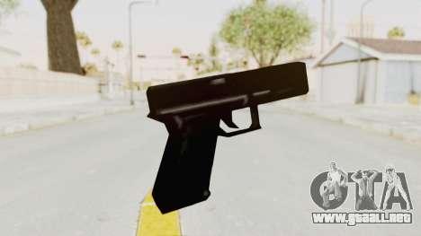 Liberty City Stories - Glock 17 para GTA San Andreas tercera pantalla