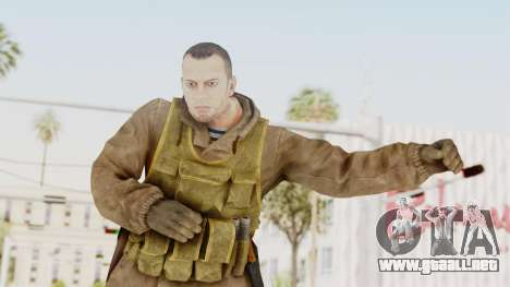 MGSV The Phantom Pain Soviet Union Sniper para GTA San Andreas