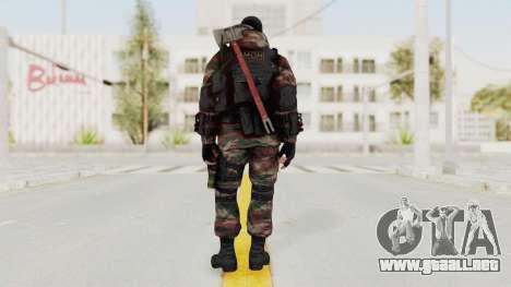 Battery Online Russian Soldier 5 v2 para GTA San Andreas tercera pantalla