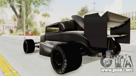 Ford 32 F1 para GTA San Andreas left